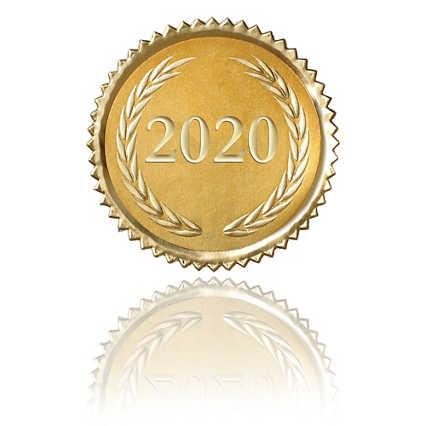 Certificate Seal - 2020 Laurels