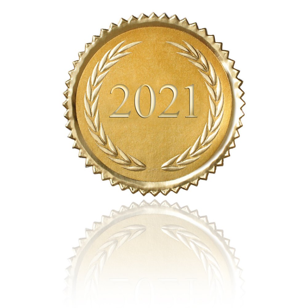 View larger image of Certificate Seal - 2021 Laurels