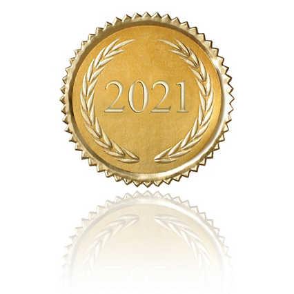 Certificate Seal - 2021 Laurels