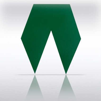Satin Award Ribbons - Green