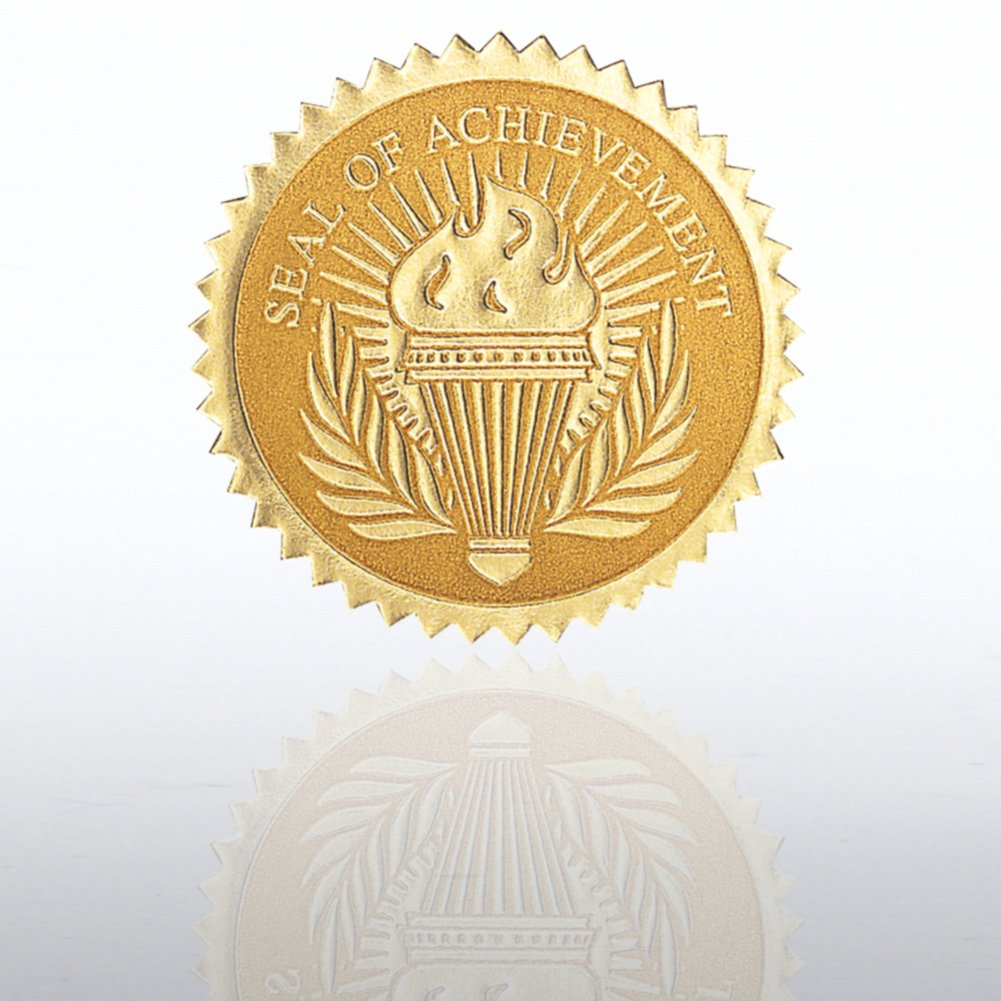 View larger image of Certificate Seal - Seal Of Achievement Torch
