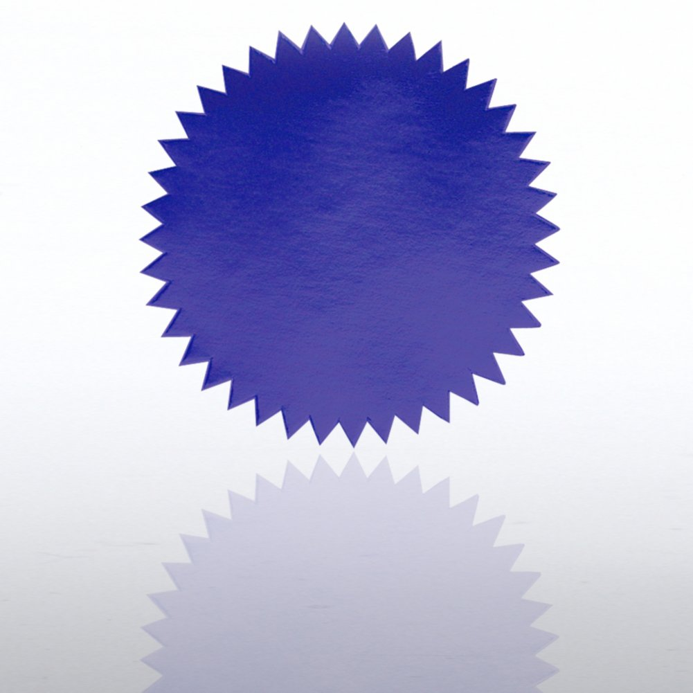 View larger image of Blank Certificate Seal - Blue