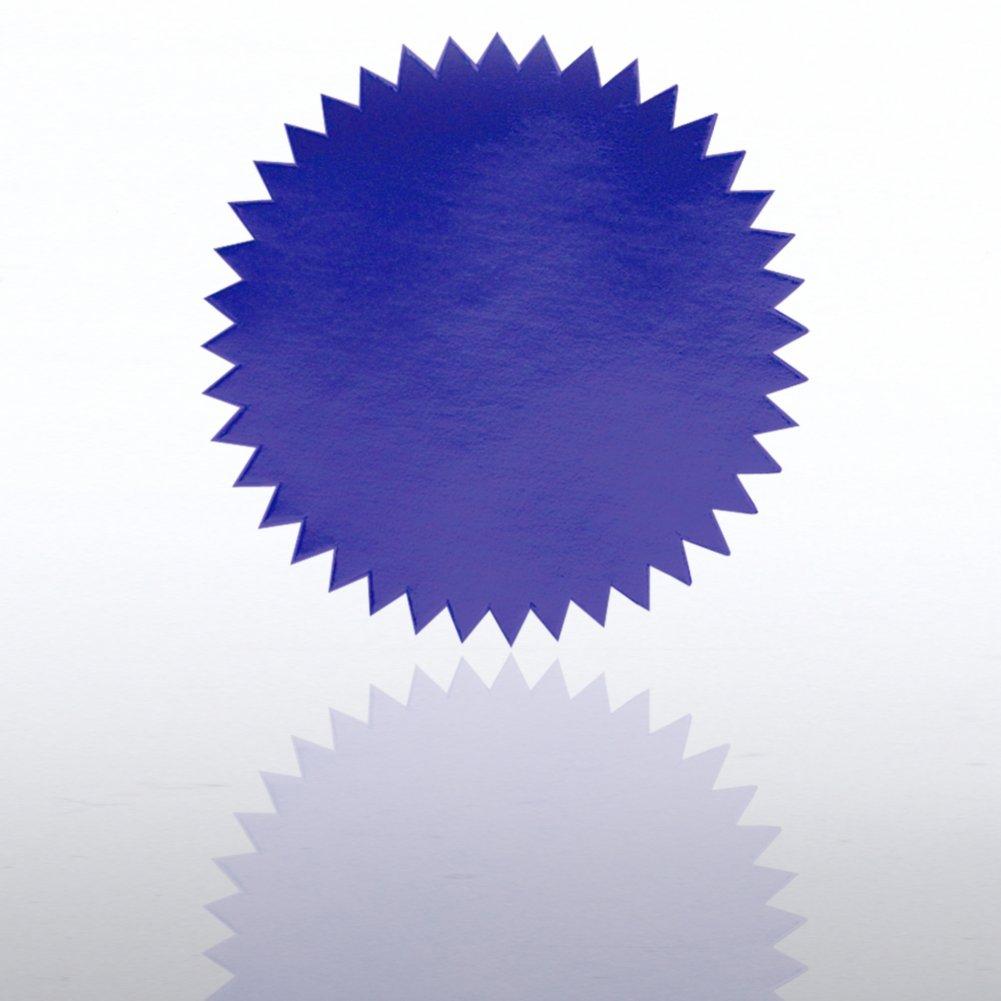 Blank Certificate Seal - Blue