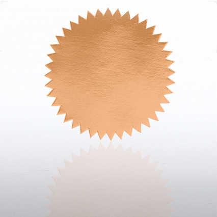 Blank Certificate Seal - Bronze