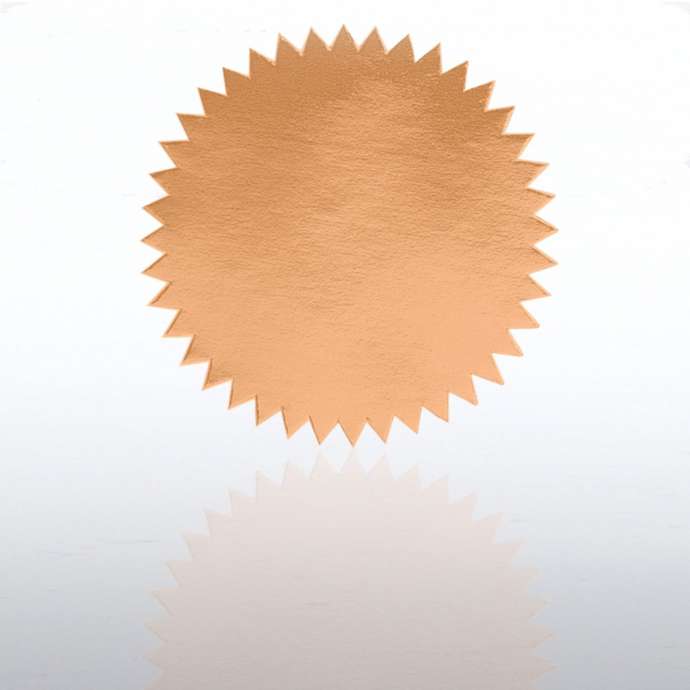 View larger image of Blank Certificate Seal - Bronze