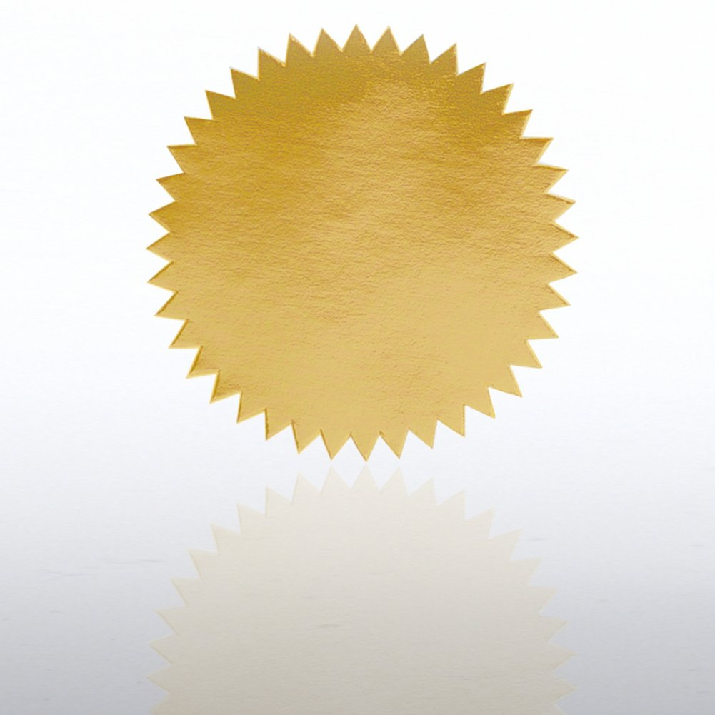 View larger image of Blank Certificate Seal - Gold