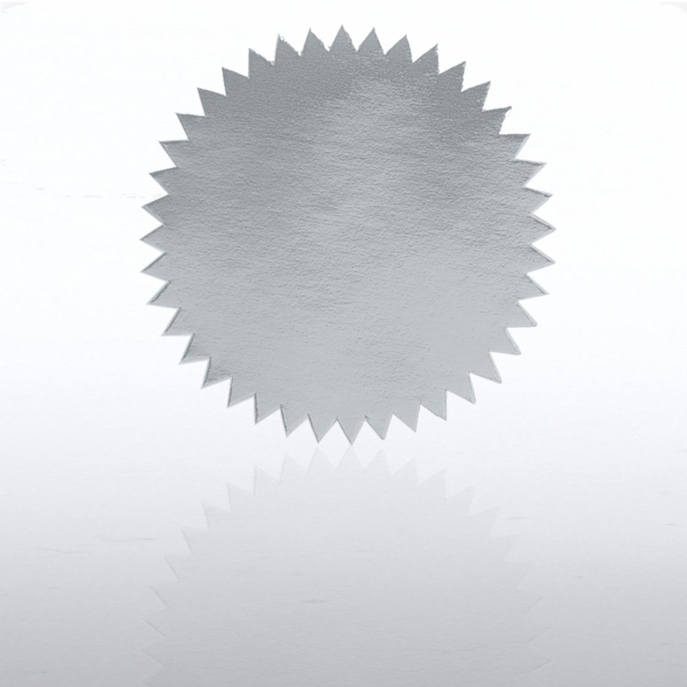 View larger image of Blank Certificate Seal - Silver