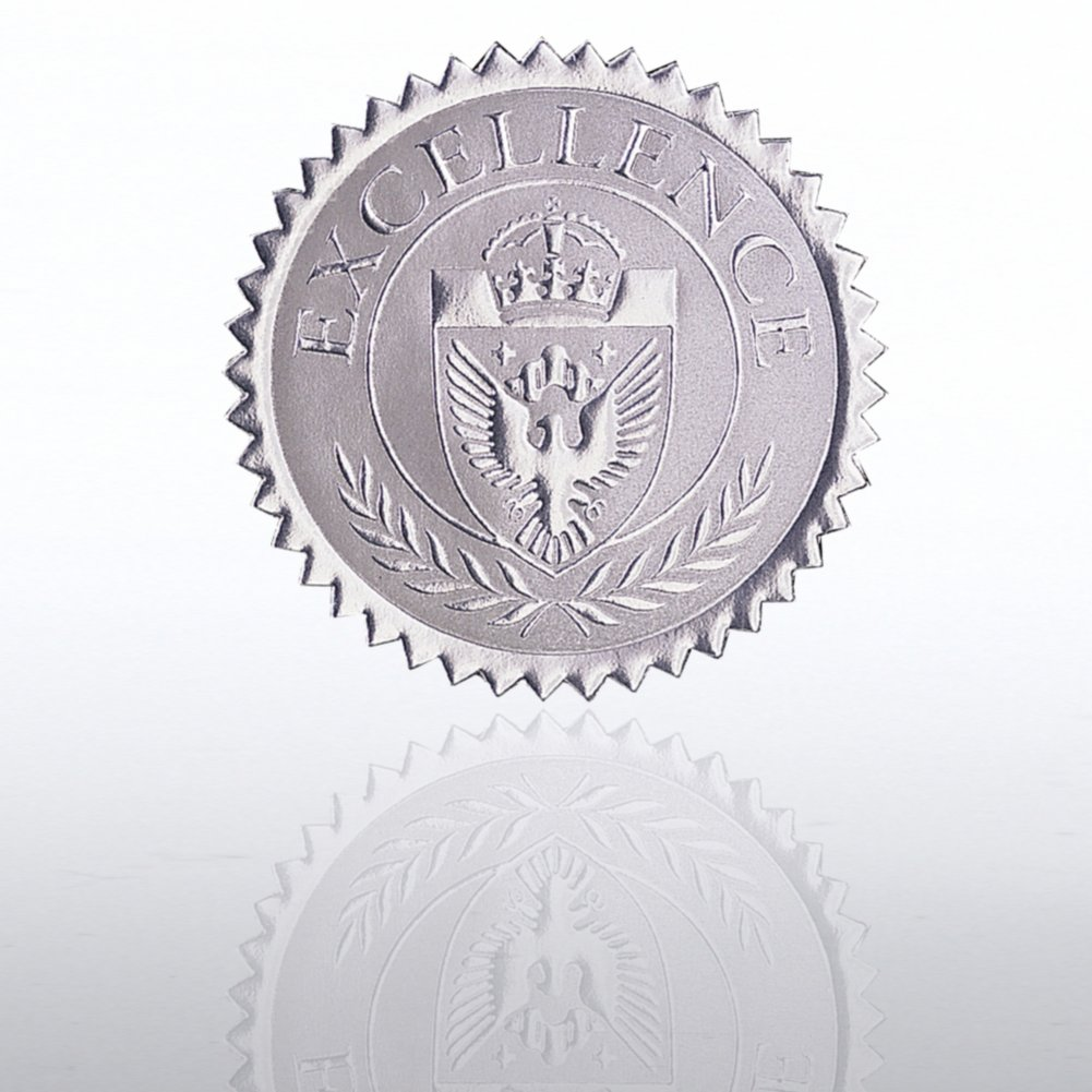 Certificate Seal - Excellence Shield - Silver