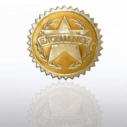 Certificate Seal - Excellence Star