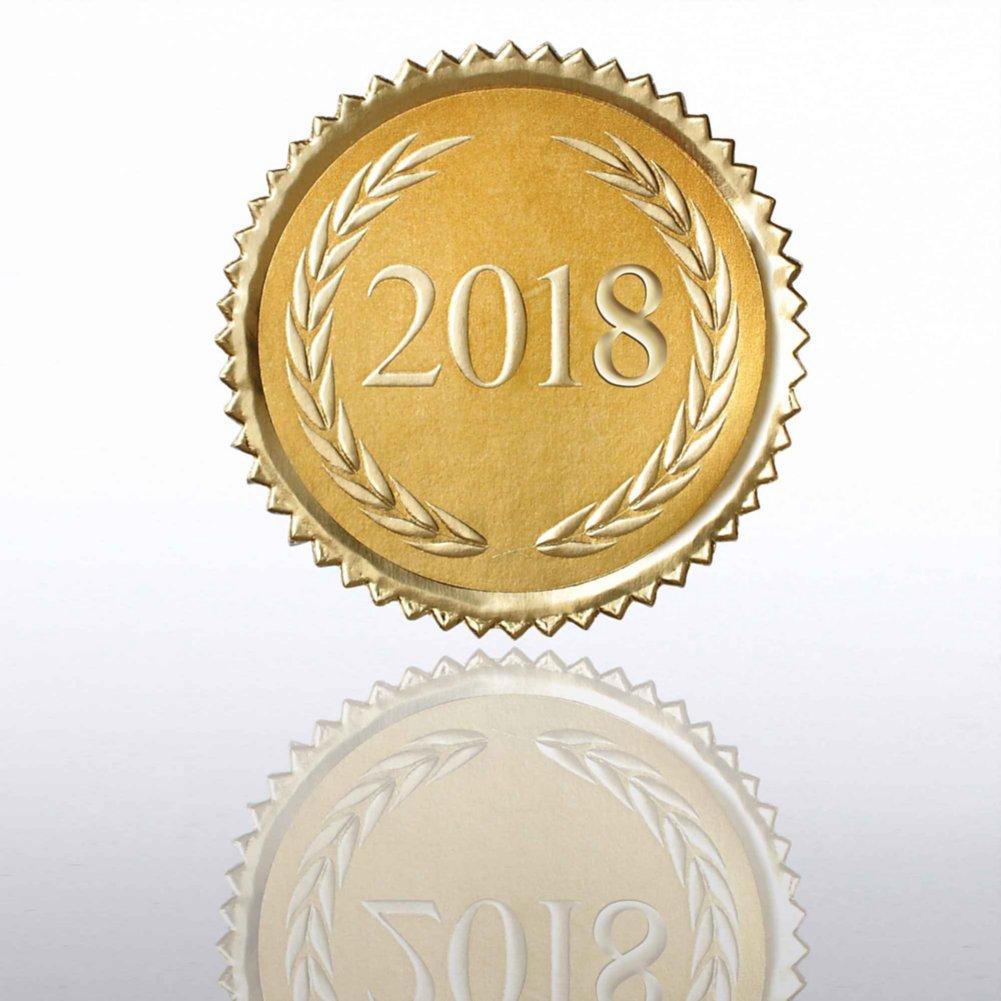 View larger image of Certificate Seal - 2018 Laurels
