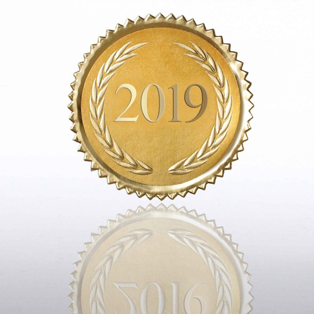 View larger image of Certificate Seal - 2019 Laurels