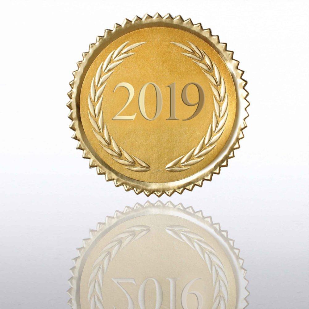 View larger image of Certificate Seal - 2019 Laurels