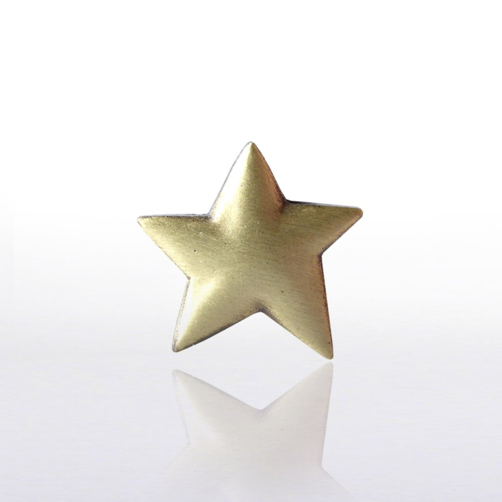 Lapel Pin - Gold Star