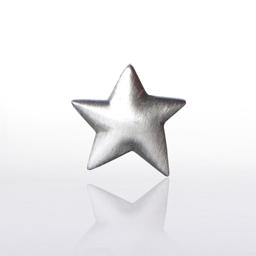 View larger image of Lapel Pin - Silver Star