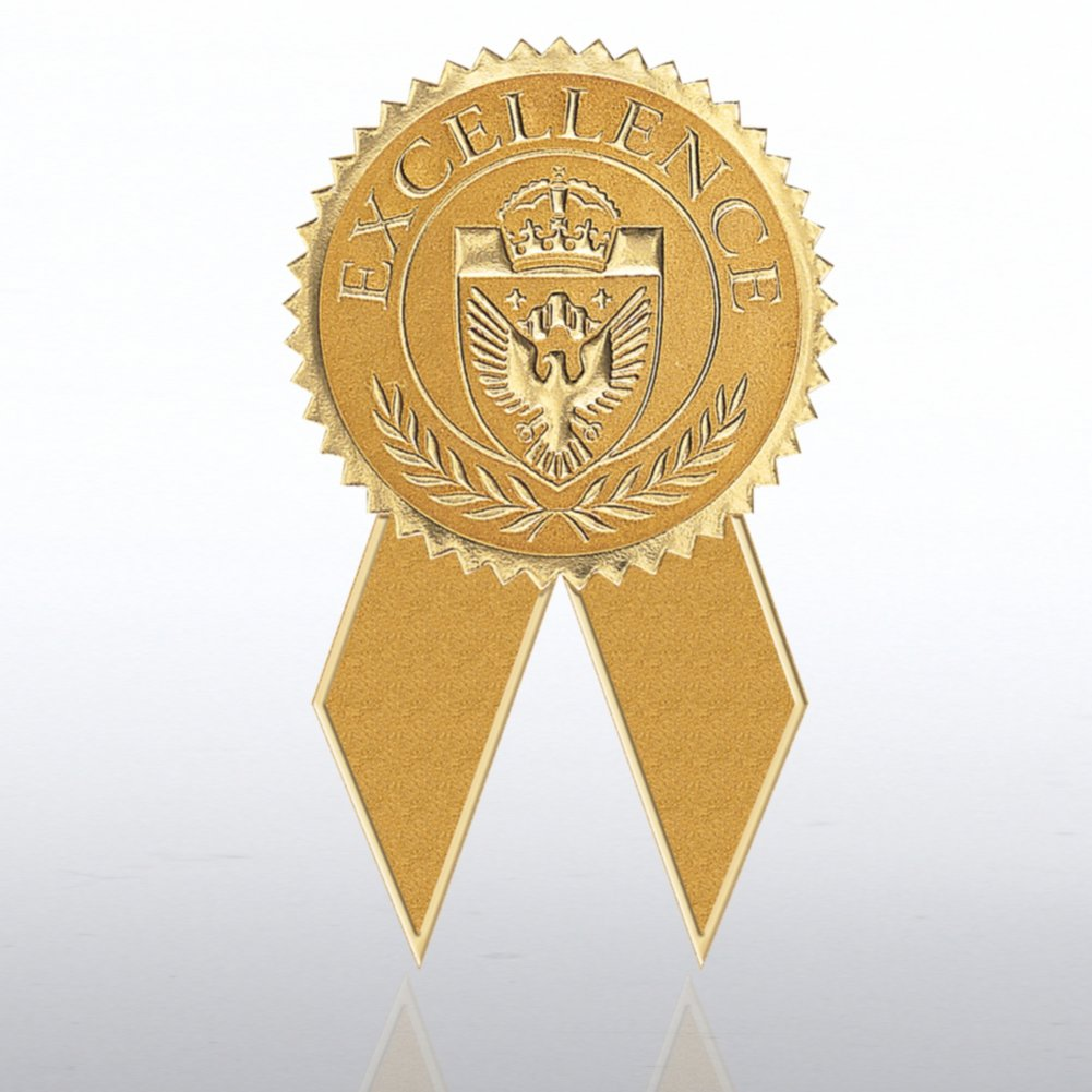 View larger image of Certificate Seal with Ribbon - Excellence - Gold