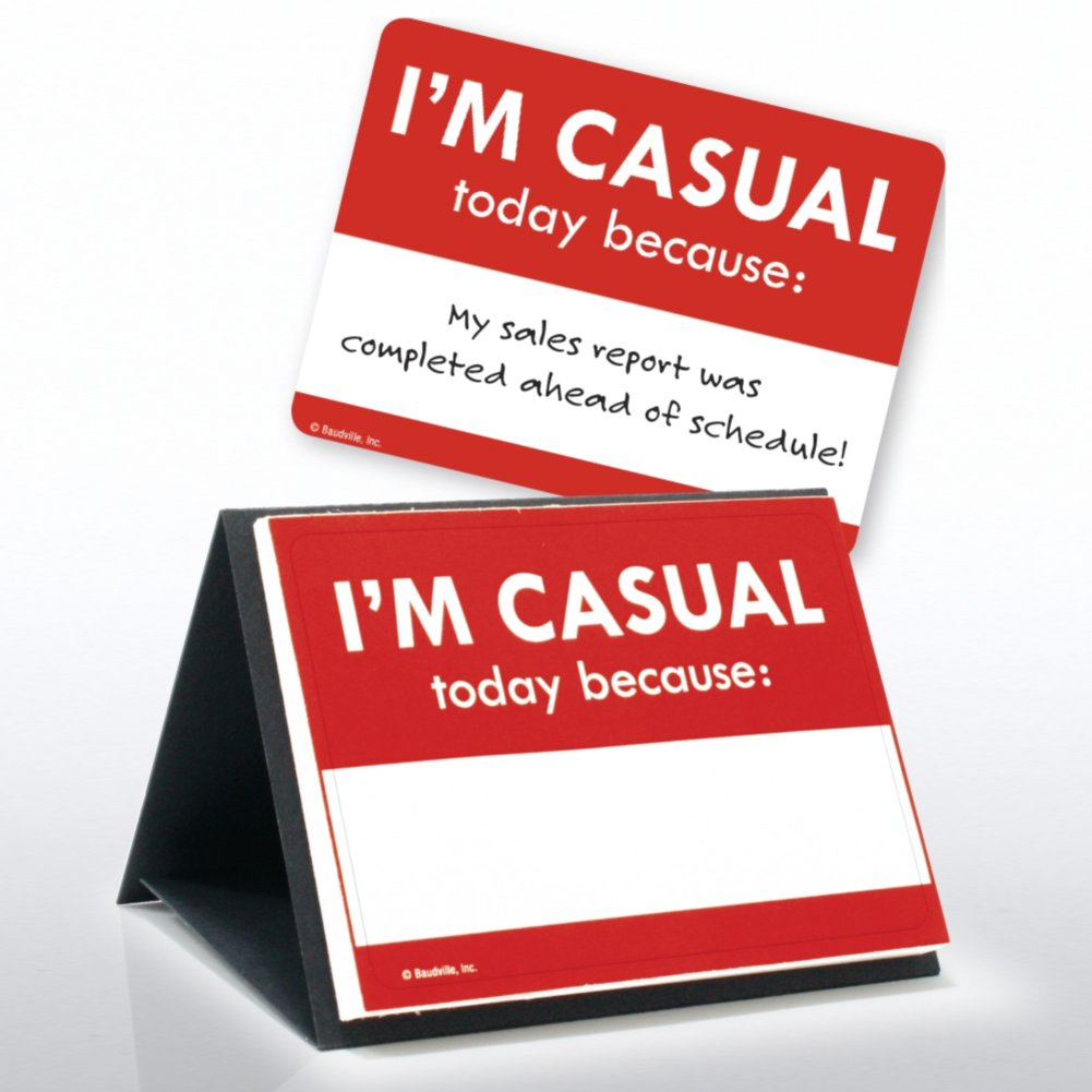 View larger image of Sticker Set - I Earned a Casual Day