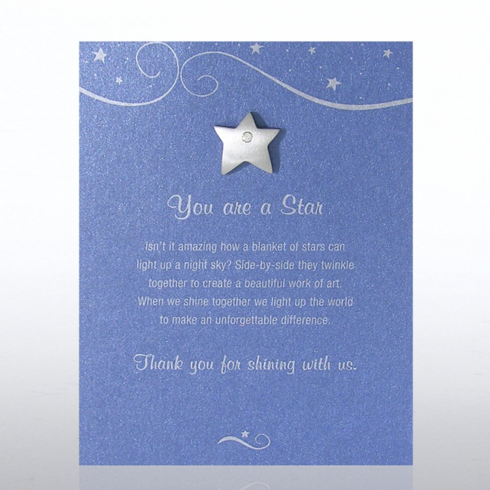 Character Pin - Star: You Are A Star