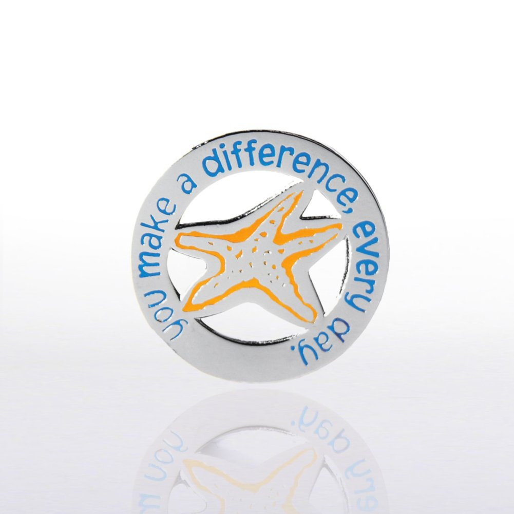 View larger image of Lapel Pin - You make a difference, every day.