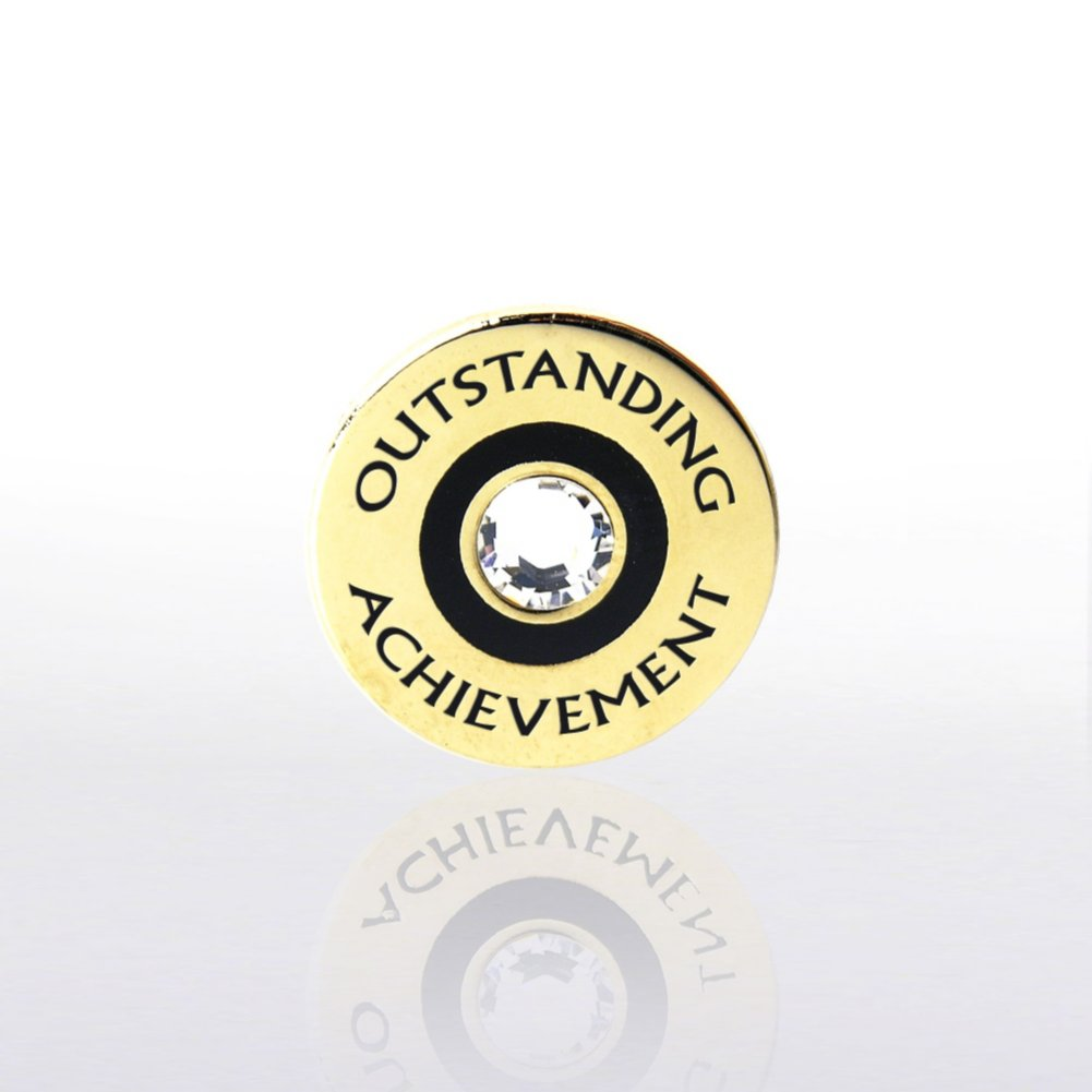 View larger image of Lapel Pin - Outstanding Achievement w/ Gem