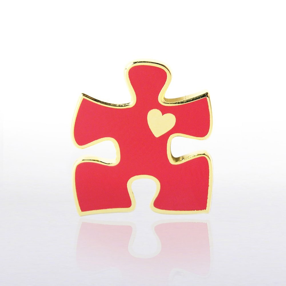 View larger image of Lapel Pin - Essential Piece with Heart