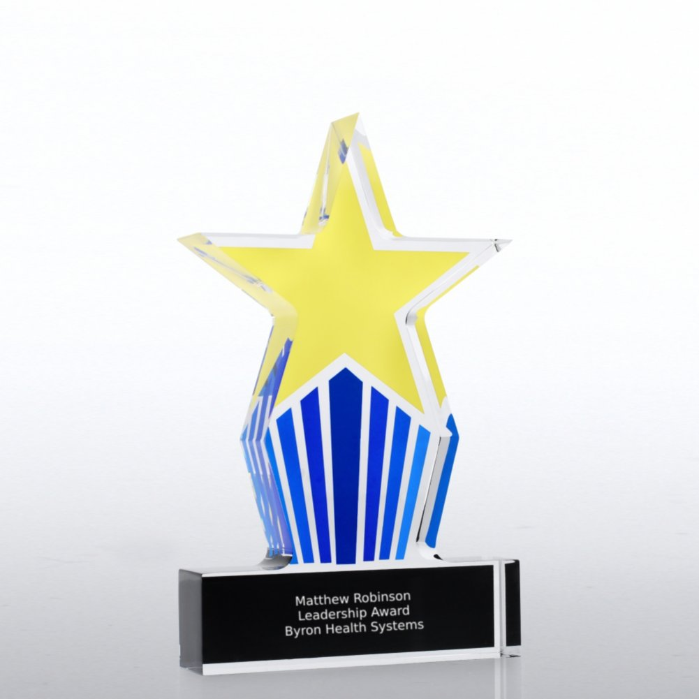 View larger image of Desktop Acrylic Trophy - Leadership Star