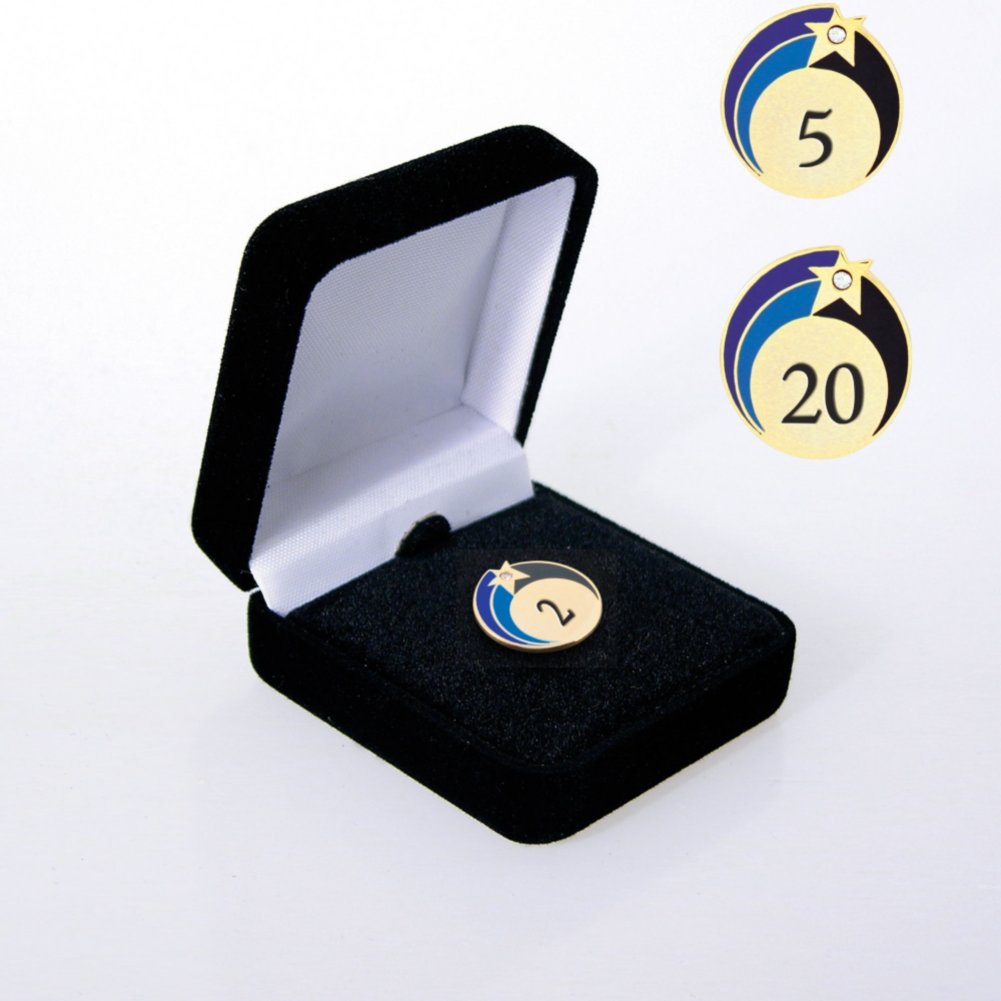 View larger image of Lapel Pin - Anniversary Stars