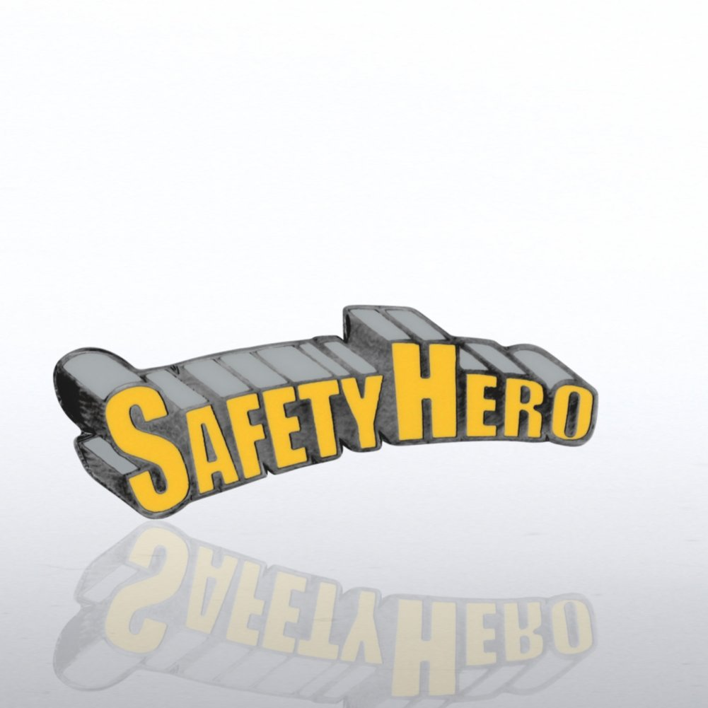 View larger image of Lapel Pin - Safety Hero