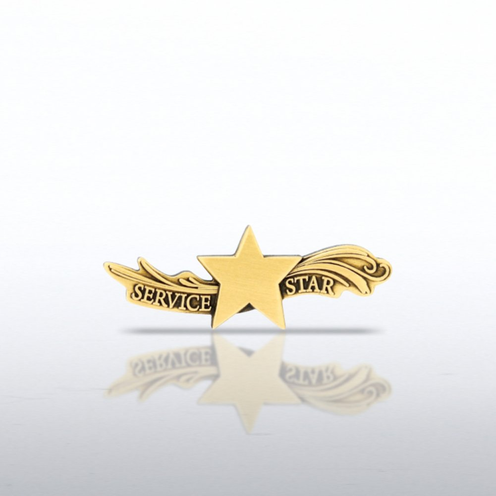 View larger image of Lapel Pin - Star Dream Service Star