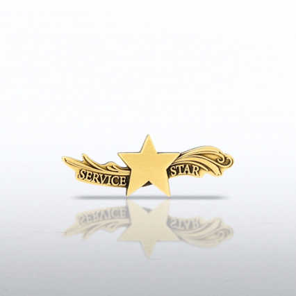 Lapel Pin - Star Dream Service Star