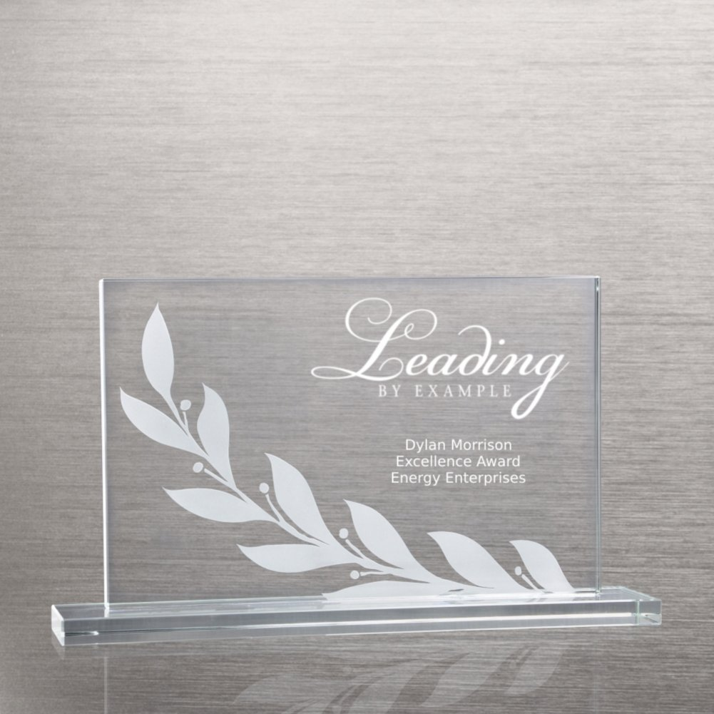 View larger image of Etched Glass Award - Laurel