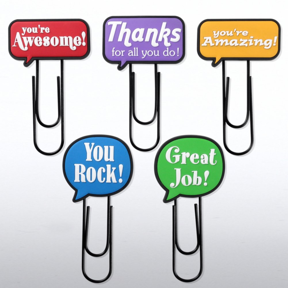 View larger image of Jumbo Fun Clips - Positive Praise