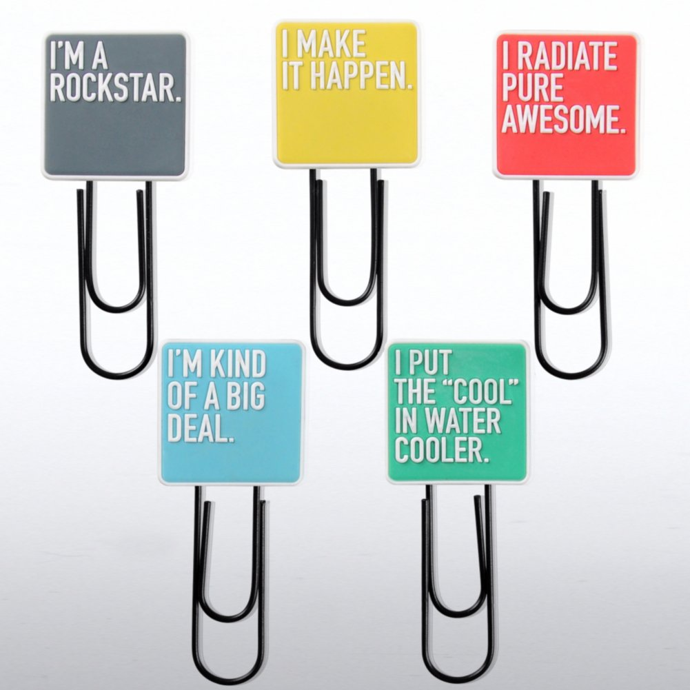 View larger image of Jumbo Paper Clips - Exclamations