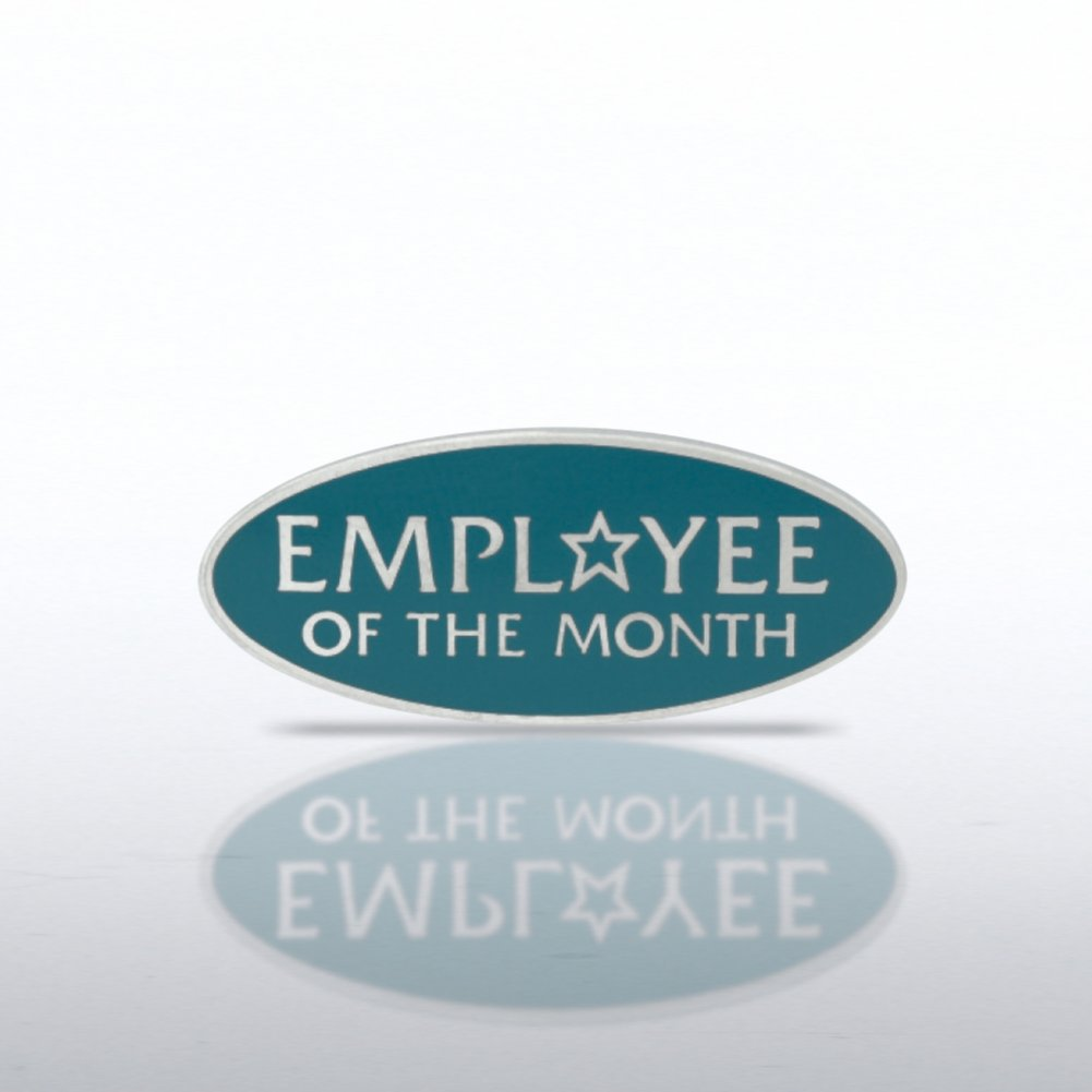 Lapel Pin - Employee of the Month - Round