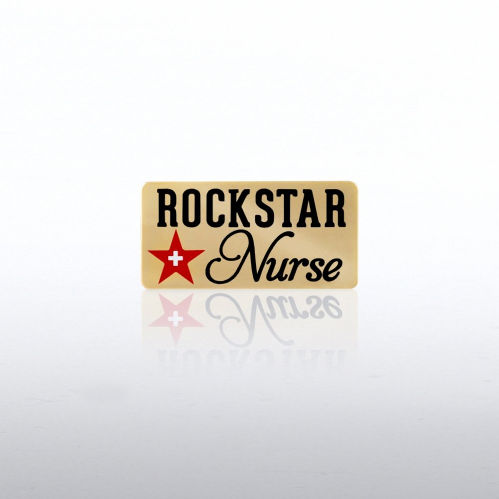 View larger image of Lapel Pin - Rock Star Nurse