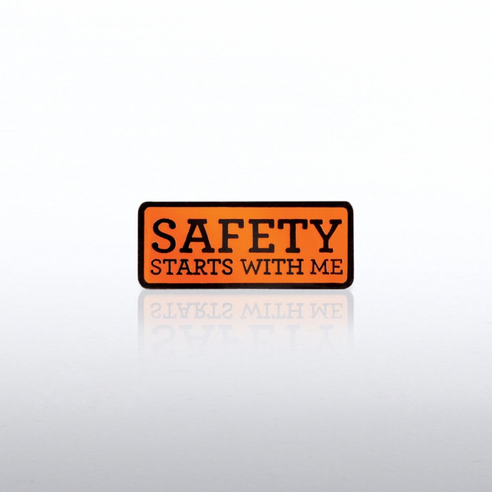 View larger image of Lapel Pin - Safety Starts with Me