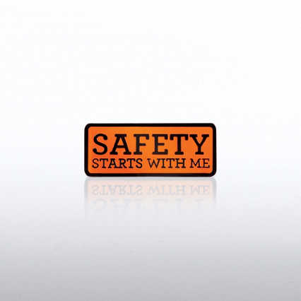 Lapel Pin - Safety Starts with Me