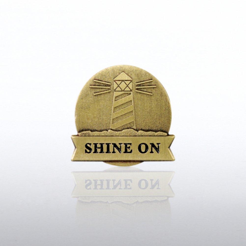 Lapel Pin - Lighthouse: Shine On