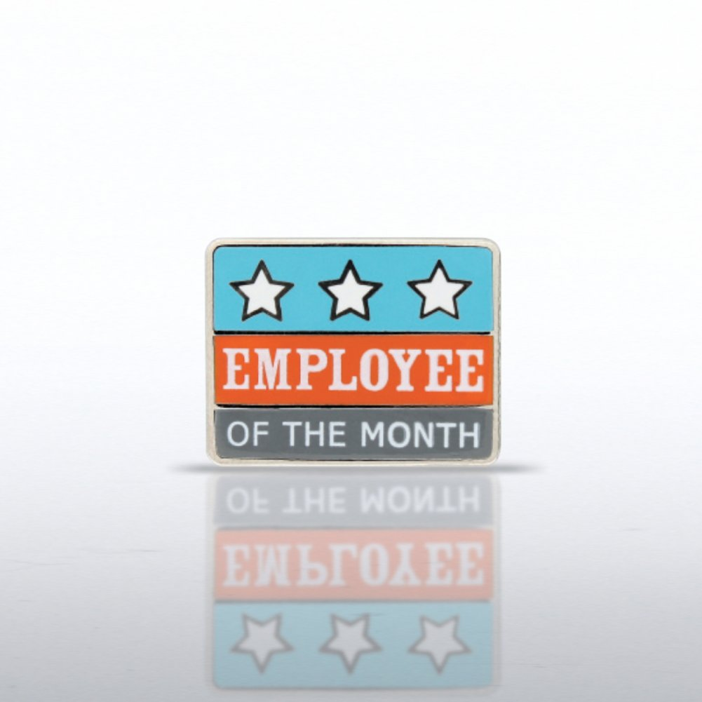 View larger image of Lapel Pin - Employee of the Month Stars