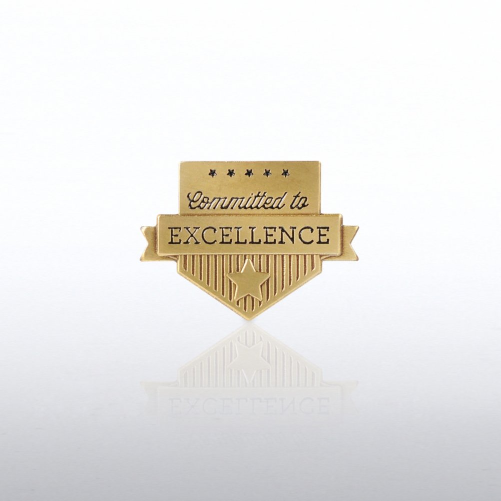 View larger image of Lapel Pin - Committed to Excellence Banner