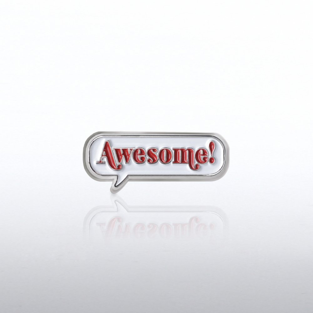 Bobble Lapel Pin - Awesome!
