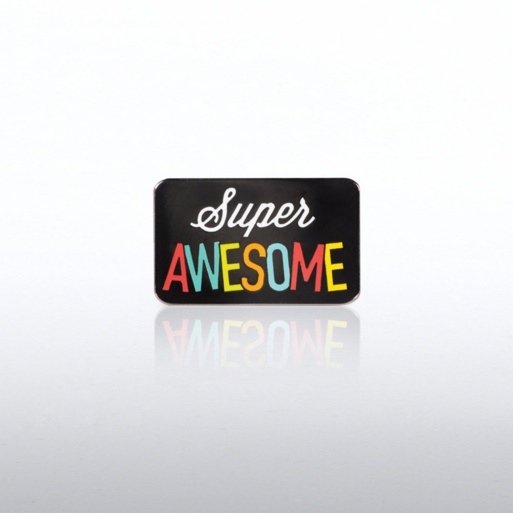 View larger image of Lapel Pin - Super Awesome