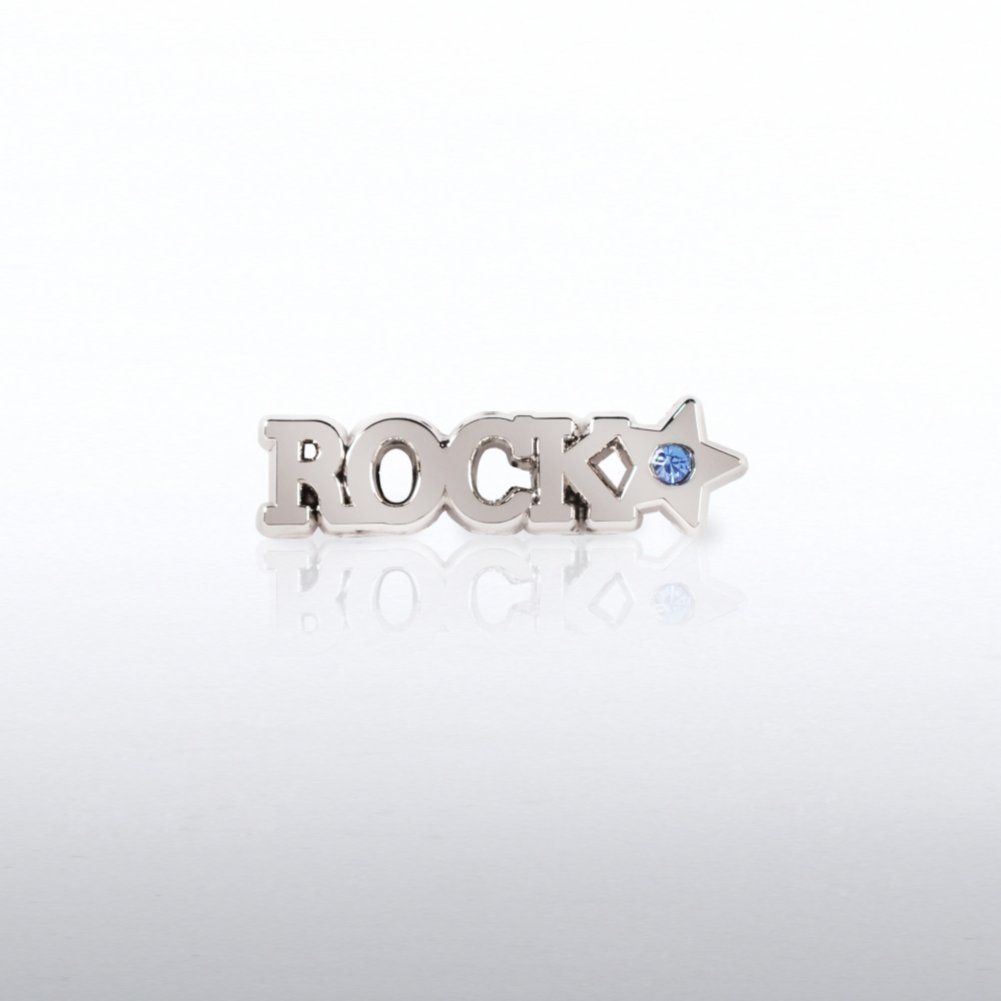 View larger image of Lapel Pin - Rock Star with Gem
