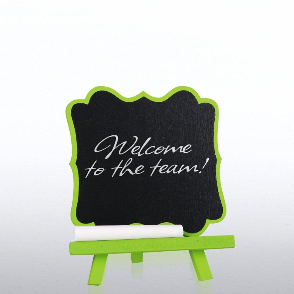 View larger image of Desktop Chalkboard Easel - Ornate Frame
