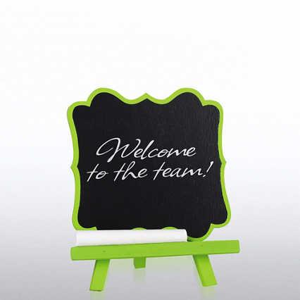 Desktop Chalkboard Easel - Ornate Frame