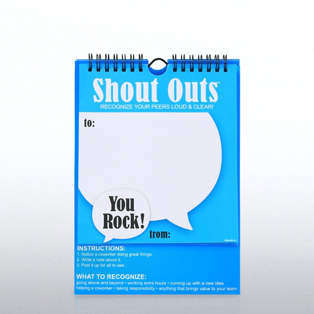 View larger image of Shout Out - Positive Praise - You Rock!