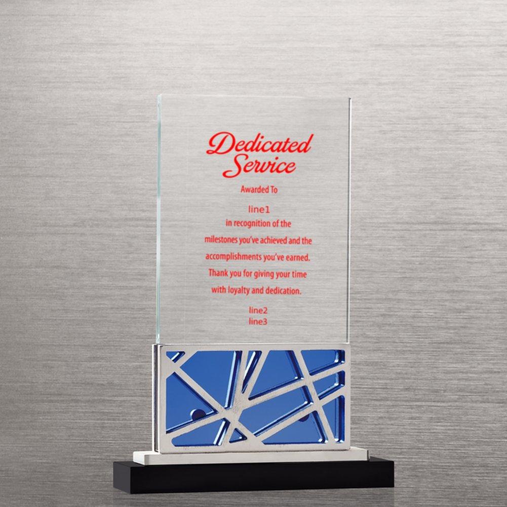 Abstract Metal and Crystal Award - Tower