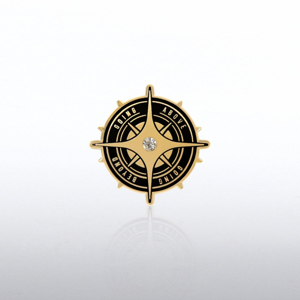 View larger image of Lapel Pin - Going Above Going Beyond Gem