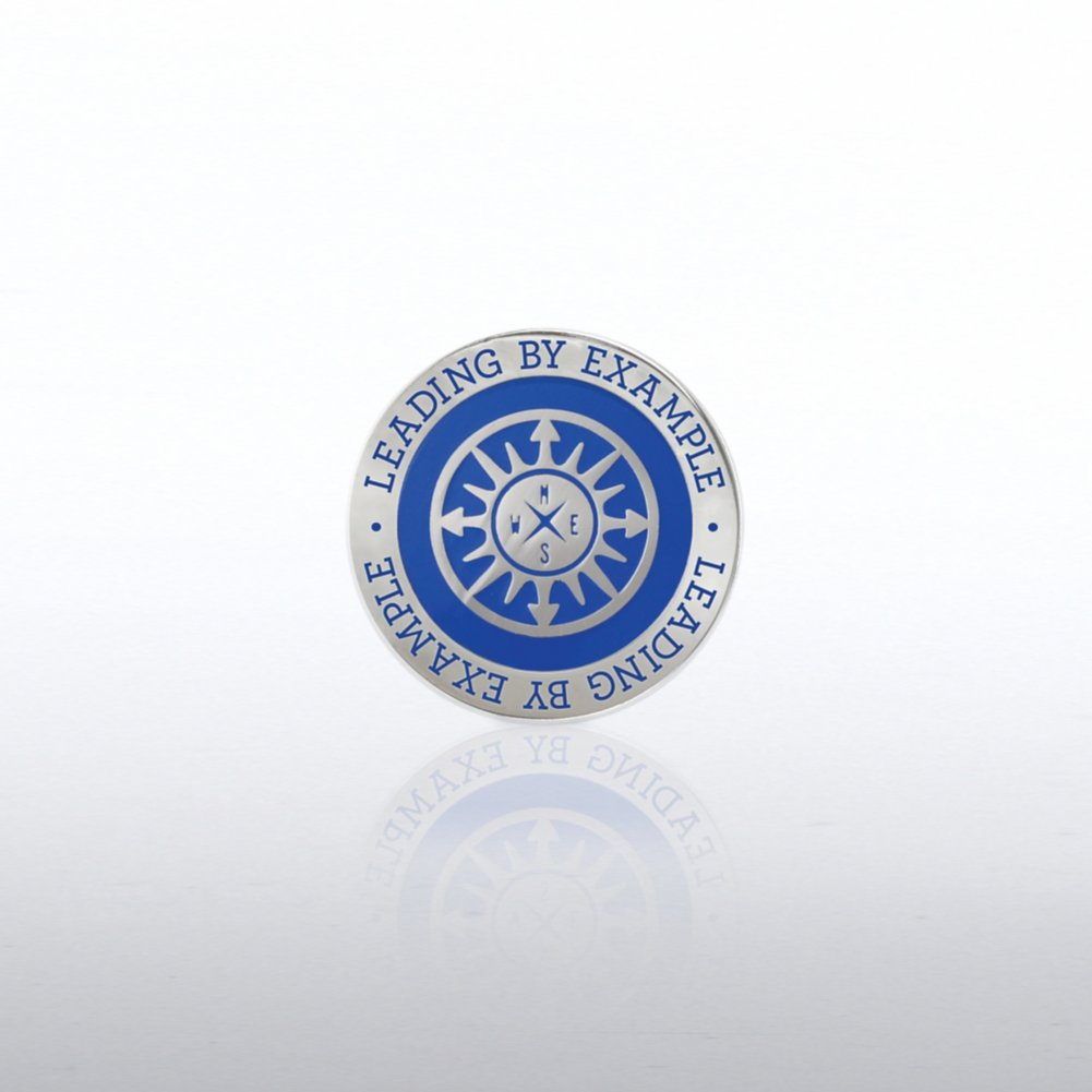View larger image of Lapel Pin -  Compass: Leading by Example