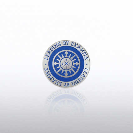 Lapel Pin -  Compass: Leading by Example