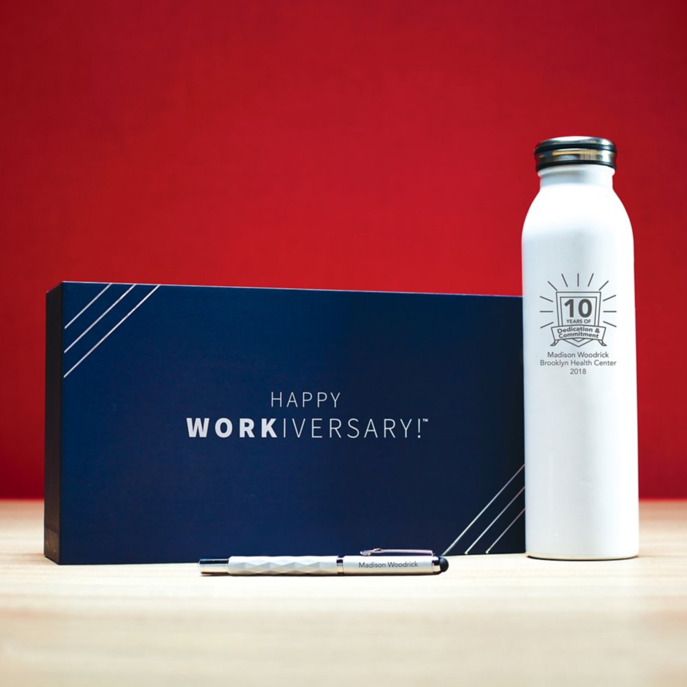 View larger image of Workiversary Gift Set - Employee Anniversary Premium Gift